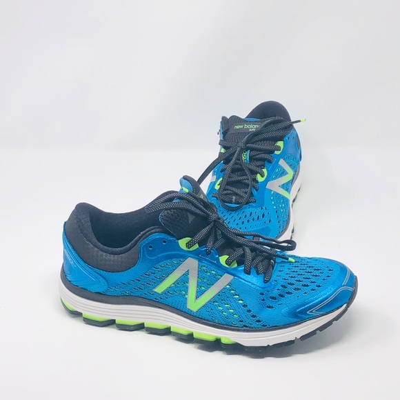 separation shoes f9671 d2abb New Balance 1260 V7 Blue Lime Running Shoes NWT